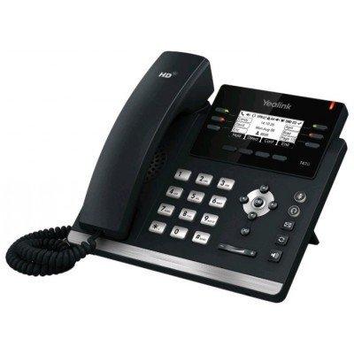 VoIP-телефон Yealink SIP-T42G (SIP-T42G)VoIP-телефоны Yealink<br>SIP-телефон, 3 линии, BLF, PoE, GigE, БЕЗ БП<br>