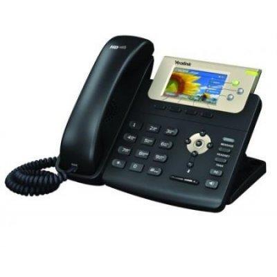 VoIP-телефон Yealink SIP-T32G (SIP-T32G)VoIP-телефоны Yealink<br>SIP-телефон, цветной экран, 3 линии, PoE, GigE<br>