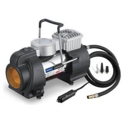 Автомобильный компрессор Rolsen RCC-240 35л/мин. (1-RLCA-RCC-240)Автомобильные компрессоры Rolsen<br>Напряжение питания:<br><br><br>12 В<br><br>Максимальный ток потребления:<br><br><br>15 A<br><br>Максимальное давление:<br><br><br>10.2 атм.<br><br>Время непрерывной работы: [Узнать описание характеристики]<br><br><br>30 мин<br><br>Производительность: [Узнать описание характеристики]<br><br><br>35 л/мин<br><br>Подключение:<br><br><br>прикуриватель<br><br>Встроенный фонарь:<br><br><br>есть<br><br> ...<br>
