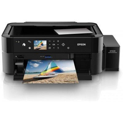 Цветной струйный МФУ Epson L850 (C11CE31402) струйный принтер epson l132