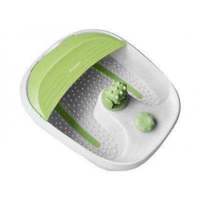 Массажная ванночка Rolsen FM-203 (FM-203)Массажные ванночки Rolsen<br>белый/зеленый 80Вт<br>