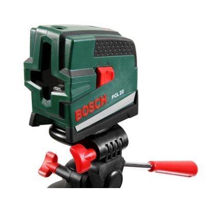 Нивелир Bosch PCL 20 SET + штатив (0603008221)Нивелиры Bosch<br>Тип устройства<br>уровень<br><br>Дальность<br>10 м<br><br>Погрешность нивелирования<br>0.5 мм/м<br><br>Проецирование лучей<br>линейное<br><br>Количество лучей<br>2<br><br>Выравнивание<br>автоматическое<br><br>Угол самовыравнивания<br>± 4 °<br><br>Время измерения<br>4 сек<br><br>Класс лазера<br>2<br><br>Длина волны<br>635 нм<br><br>Источники питания<br>AA<br><br>Резьба под штатив<br>1/4&amp;a ...<br>