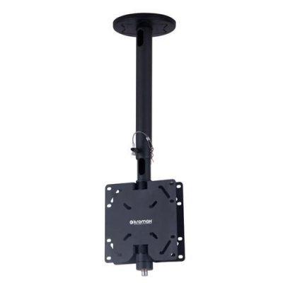 Кронштейн для ТВ и панелей потолочный Kromax COBRA-2 17-40 серый (20150 серый)Кронштейн для ТВ и панелей Kromax<br>серый for Tv 17-40, ceiling, barbell 600-900 mm<br>
