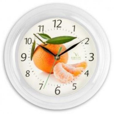 Часы настенные Вега П 6-7-5 Апельсин (П 6-7-5)Часы настенные Вега <br><br>