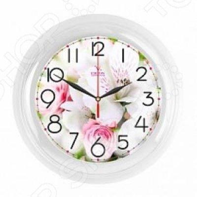 Часы настенные Вега П 6-7-106 Букет Розы (П 6-7-106)Часы настенные Вега <br>Часы настенные Вега П 6-7-106 «Букет. Белые розы» - популярный элемент в оформлении интерьера. Представить свою жизнь без часов - невозможно, особенно в современном мире, где на счету каждая минута, поэтому настенные часы станут не только красивым но и полезным украшением. Настенные часы помогут под ...<br>