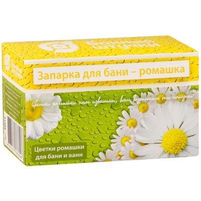 Набор банных принадлежностей Банные штучки 30015 Запарка д/бани Цветки ромашки,20 ф-пак. (30015)