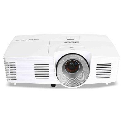 Проектор Acer X133PWH белый (mr.jl011.001)Проекторы Acer<br>технология DLP<br>разрешение 1920x1200<br>световой поток 3100 лм<br>контрастность 13000:1<br>подключение по VGA (DSub), HDMI<br>вес 2 кг<br>