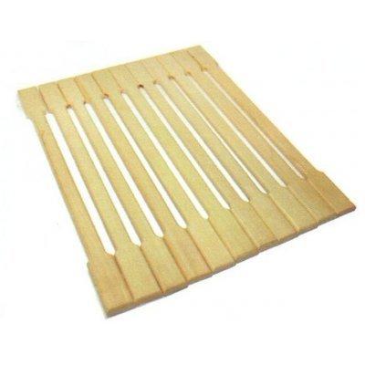 Коврик для сауны Банные штучки 34001 липовая рейка 50x150см (34001)Коврики для сауны Банные штучки<br>Деревянный коврик для бани и сауны Банные штучки является средством личной гигиены. Коврик из липы защищает парильщика от контакта с перегретыми полками или лавками, поскольку липа не нагревается. Оригинальный коврик послужит замечательным подарком любителям попариться. Характеристики: • ...<br>