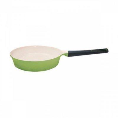 Сковорода Frybest EVERGREEN GRCA F 24 A б/кр 24 см (GRCA F 24 A)Сковороды Frybest<br>Диаметр — 24 см.<br>Материал корпуса — алюминий.<br>Материал покрытия — керамика.<br>Цвет: зеленый.<br>