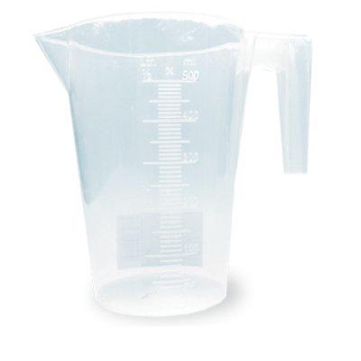 Кружка мерная Хозяюшка Мила 36005 500 мл. (Мила 36005)Кружки мерные Хозяюшка Мила<br>Мерная кружка<br>    Объем 500 мл<br><br>Мерные кружки из плотного полипропилена помогут дозировать любые продукты и вещества, устойчивы к механическим повреждениям и агрессивным средам.<br>