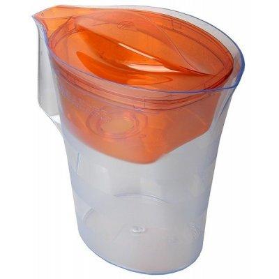 Сменный фильтр для воды Барьер оранжевый 4л (Барьер-Твист (оранж))Сменные фильтры для воды Барьер<br>Барьер Твист оранжевый (фильтр-кувшин), декорирован матовыми горизонтальными полосами, которые подчеркивают форму кувшина.<br>