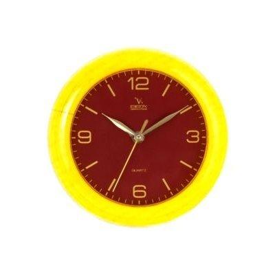 Часы настенные Вега П 6-2-64 Классика Бордо жел кант арабские (П 6-2-64)Часы настенные Вега <br><br>