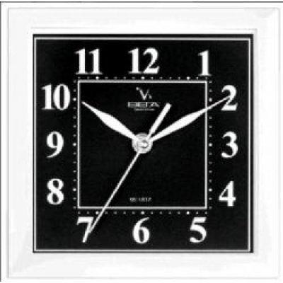 Часы настенные Вега П 3-7-48 Классика (черный фон) Арабские (П 3-7-48)Часы настенные Вега <br>Часы настенные Вега П 3-7-48 Классика (черный фон) Арабские<br>