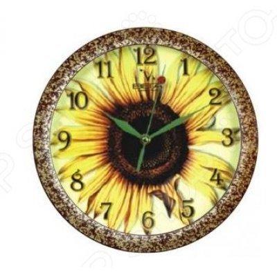Часы настенные Вега П 1-982/7-15 Подсолнух (П 1-982/7-15)Часы настенные Вега <br>Часы настенные Вега П 1-982/7-15 - популярный элемент в оформлении интерьера. Представить свою жизнь без часов - невозможно, особенно в современном мире, где на счету каждая минута, поэтому настенные часы станут не только красивым но и полезным украшением. Настенные часы помогут подчеркнуть индивиду ...<br>