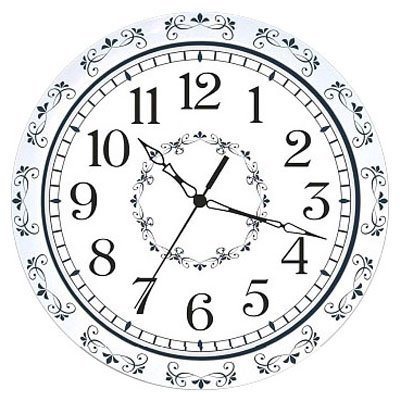 Часы настенные Вега П 1-7418/7-180 Гжель БЕЛАЯ (П 1-7418/7-180)Часы настенные Вега <br>Тип механизма Кварцевые<br>Материал корпуса Пластик<br>Плавный ход секундной стрелки<br>Размеры 290х290х30мм<br>