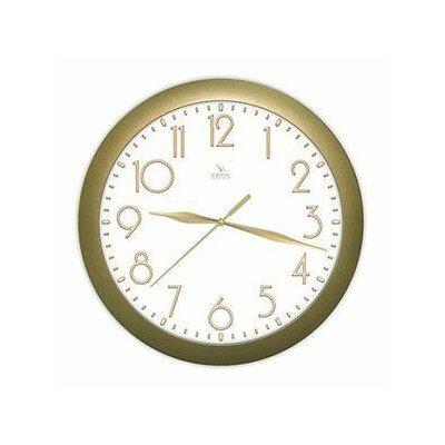 Часы настенные Вега П 1-8/7-215 Классика Золото арабские (П 1-8/7-215)Часы настенные Вега <br>Вега П 1-8/7-215 Классика Золото арабские<br>