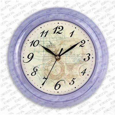 """Часы настенные Вега П 6-13-13 """"Карта Под Старину"""" (П 6-13-13)"""