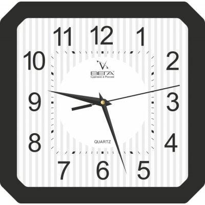 Часы настенные Вега П 4-6/6-18 Белые Черный кант Арабские (П 4-6/6-18)Часы настенные Вега <br>Категория: Сюжетные часы Черный кант Арабские<br>    Тип часов: Часы из пластика<br>    Форма корпуса: П4<br>