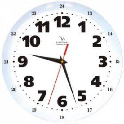 Часы настенные Вега П 1-7619/7-32 Классика Белые 1-12/13-24 (П 1-7619/7-32)Часы настенные Вега <br>Категория: Классические часы Тип часов: Часы из пластика Форма корпуса: П1 Классика Белые<br>
