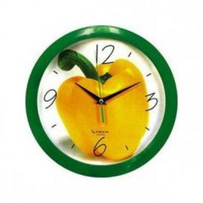Часы настенные Вега П 1-3/7-28 Сладкий ПЕРЕЦ (П 1-3/7-28)Часы настенные Вега <br><br>