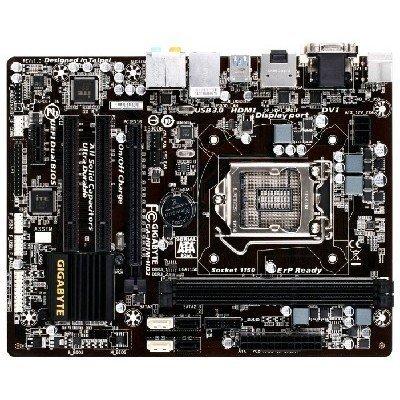 Материнская плата ПК Gigabyte GA-H81M-HD3 Socket 1150 (GA-H81M-HD3)Материнские платы ПК Gigabyte<br>материнская плата форм-фактора microATX<br>    сокет LGA1150<br>    чипсет Intel H81<br>    2 слота DDR3 DIMM, 1333-1600 МГц<br>    разъемы SATA: 3 Гбит/с - 2; 6 Гбит/с - 2<br>