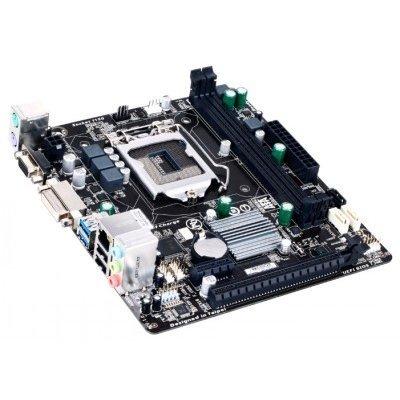 Материнская плата ПК Gigabyte GA-H81M-S2V Socket 1150 (GA-H81M-S2V) материнская плата gigabyte ga h81m s1 socket 1150 h81 2xddr3 2xsata3 1xpci ex16 2xusb3 0 glan matx