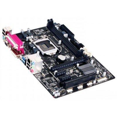 Материнская плата ПК Gigabyte GA-B85M-D3V Socket 1150 (GA-B85M-D3V)Материнские платы ПК Gigabyte<br>материнская плата форм-фактора microATX<br>    сокет LGA1150<br>    чипсет Intel B85<br>    2 слота DDR3 DIMM, 1333-1600 МГц<br>    разъемы SATA: 3 Гбит/с - 2; 6 Гбит/с - 4<br>