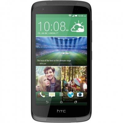Смартфон HTC Desire 526G черный (99HADU095-00)Смартфоны HTC<br>Desire 526G Dual Sim Black, 4.7&amp;amp;#039;&amp;amp;#039; 960x540, 1.3GHz, 4 Core, 1GB RAM, 8GB, up to 32GB flash, 8Mpix/2Mpix, 2G, 3G, BT, Wi-Fi, GPS, 2000mAh, Android 4.4, 154g, 69.8x139.8x9.9<br>