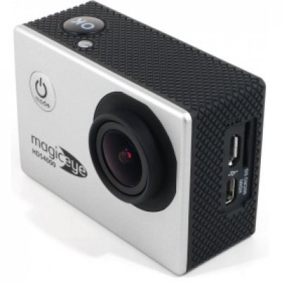 Экшн камера Gmini MagicEye HDS4000 серебристая (АК-10000002)Экшн камеры Gmini<br>Silver, Мото/Вело/Авто/Спорт, водонепроницаемый, FullHD, 1080p<br>