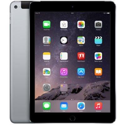 Планшетный ПК Apple iPad Air 2 128Gb Wi-Fi + Cellular Space Grey (MGWL2RU/A)Планшетные ПК Apple<br>Apple iPad Air 2 Wi-Fi + Cellular 128GB - Space Grey<br>