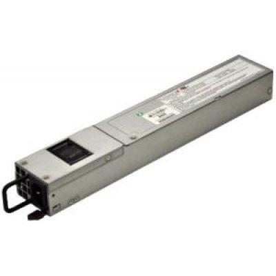 Блок питания сервера SuperMicro PWS-504P-1R (PWS-504P-1R)Блок питания сервера SuperMicro<br>Резервный блок питания SuperMicro PWS-504P-1R мощностью 500 Вт, для монтажа в корпуса высотой 1U.<br>