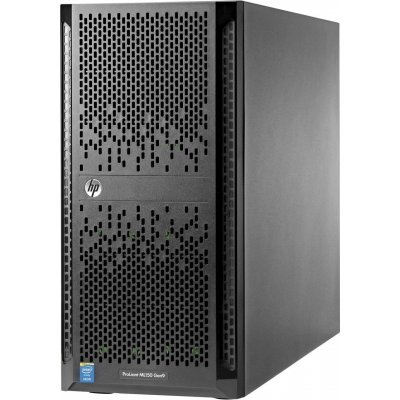 Сервер HP ProLiant ML150 (776274-421) (776274-421)Серверы HP<br>Gen9 1xE5-2603v3 1x4Gb 4x 10K LFF SATA B140i 1G 2P 1x550W 3-1-1<br>