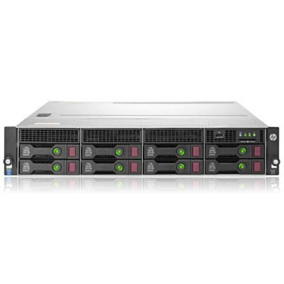 Сервер HP ProLiant DL80 (778641-B21) (778641-B21)Серверы HP<br>Gen9 1xE5-2609v3 1x8Gb 7.2K LFF SAS/SATA H240 1G 2P 1x550W 1-1-1<br>