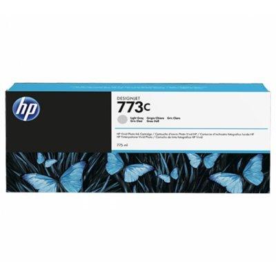 Картридж для струйных аппаратов HP 773C (C1Q44A) светло-серый для HP Designjet Z6600/Z6800 (775мл) (C1Q44A)Картриджи для струйных аппаратов HP<br>Картридж HP 773C светло-серый для HP DJ Z6600/ Z6800 775-ml (C1Q44A)<br>