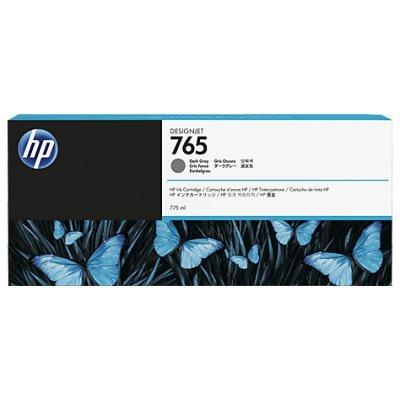 Картридж для струйных аппаратов HP 765 (F9J54A) темно-серый для HP Designjet T7200 (775мл) (F9J54A)Картриджи для струйных аппаратов HP<br>HP № 765 (темно-серый/dark-gray, для HP DJ Т7200, 775 мл.)<br>