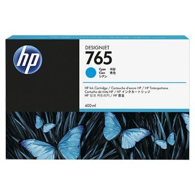 Картридж для струйных аппаратов HP 765 (F9J52A) голубой для HP Designjet T7200 (400мл) (F9J52A) tp760 765 hz d7 0 1221a