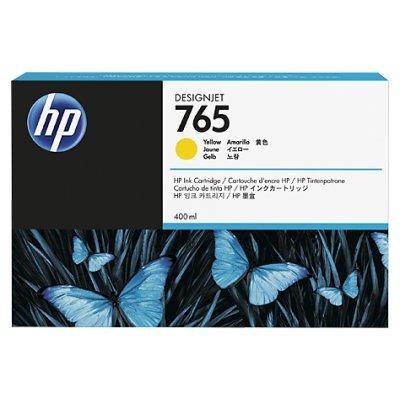 Картридж для струйных аппаратов HP 765 (F9J50A) желтый для HP Designjet T7200 (400мл) (F9J50A) картридж для струйных аппаратов hp 765 f9j53a серый для hp designjet t7200 400мл f9j53a