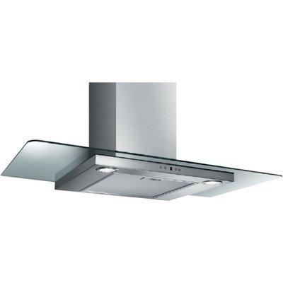 Вытяжка Elica TC-PRF0091935 (FLIRT IX/A/90/TC-PRF0091935)Вытяжки Elica<br>Декоративный дизайн, прямое стекло, 90 см, электронное управление, 700 куб. м. , нержавеющая сталь+прозрачное стекло<br>
