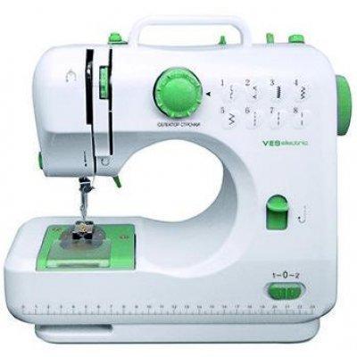Швейная машина Ves 505 (VES 505)Швейные машины Ves <br>Общие характеристики<br><br>Тип управления<br>    электромеханическое <br><br>Кнопка реверса<br>    есть <br><br>Освещение<br>    есть <br><br>Швейные операции<br><br>Количество швейных операций<br>    8 <br><br>Выполнение петли<br>    ручное <br><br>Строчки<br>    потайная, эластичная, эластичная потайная <br><br>Конструкция<br><br>Вышивальный блок<br>    нет <br><br>Дисплей<br>   ...<br>