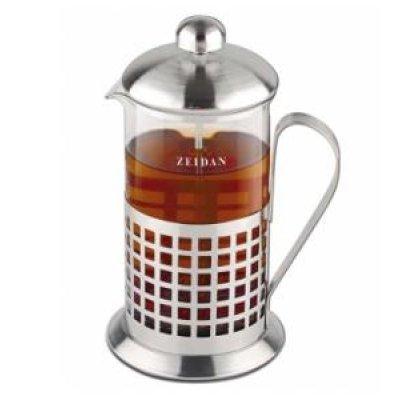 Френч-пресс Zeidan Z-4082 (Z 4082)Френч-прессы Zeidan <br>800 мл.,нерж.сталь,термост.стекло<br>