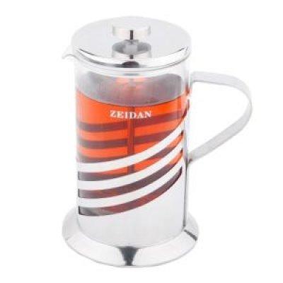 Френч-пресс Zeidan Z-4064 (Z 4064)Френч-прессы Zeidan <br>350 мл.,нерж.сталь,термост.стекло<br>