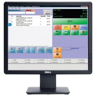 Монитор Dell 17 E1715S BK/BK (1715-8107) (1715-8107) монитор dell 17 e1715s tft tn 1715 8107