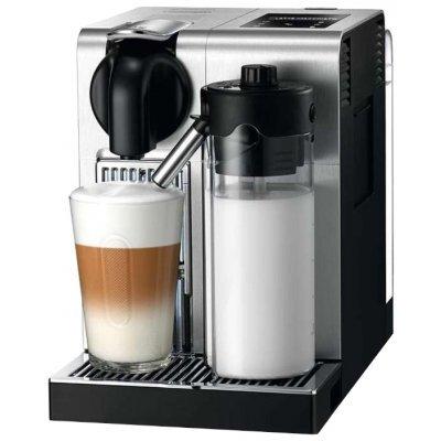 Кофемашина Delonghi EN 750 MB (EN 750 MB)Кофемашины Delonghi<br>капсульная для кофе в капсулах капсулы Nespresso регулировка порции воды автоматическое приготовление капучино отключение при неиспользовании дисплей металлический корпус<br>