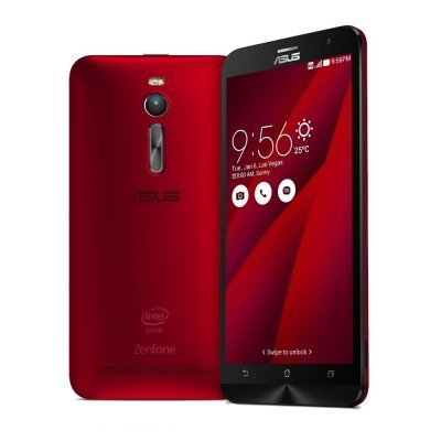 Смартфон ASUS Zenfone 2 5.5 ZE551ML-6C149RU 32Gb красный (90AZ00A3-M01490)Смартфоны ASUS<br>Cмартфон, Android 5.0, CPU Atom Z3580, LTE, 4GB,  32Gb, вес 170 г, ШхВхТ 77.2x152.5x10.9 мм, экран 5.5, 1080x1920, Bluetooth, NFC, Wi-Fi, GPS, ГЛОНАСС, фотокамера 13 МП / 5МП, память 32 Гб, слот microSD (TransFlash), аккумулятор 3000 мАч<br>