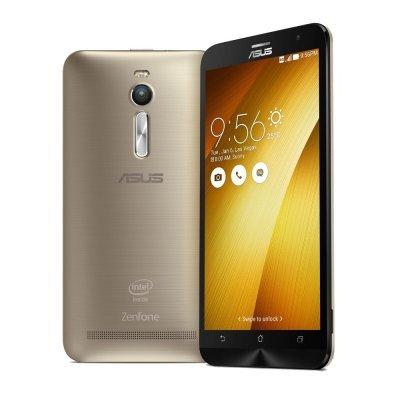 Смартфон ASUS Zenfone 2 5.5 ZE551ML-6G150RU 32Gb золотой (90AZ00A4-M01500)Смартфоны ASUS<br>Cмартфон, Android 5.0, CPU Atom Z3580, LTE, 4GB,  32Gb, вес 170 г, ШхВхТ 77.2x152.5x10.9 мм, экран 5.5, 1080x1920, Bluetooth, NFC, Wi-Fi, GPS, ГЛОНАСС, фотокамера 13 МП / 5МП, память 32 Гб, слот microSD (TransFlash), аккумулятор 3000 мАч<br>