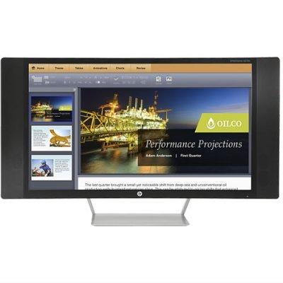 Монитор HP 27 EliteDisplay S270c (K1M38AA)Мониторы HP<br>Монитор HP 27 S270c серебристый IPS LED 16:9 DVI матовая HAS Pivot 250cd 178гр/178гр 1920x1080 D-Sub DisplayPort 1080p USB<br>