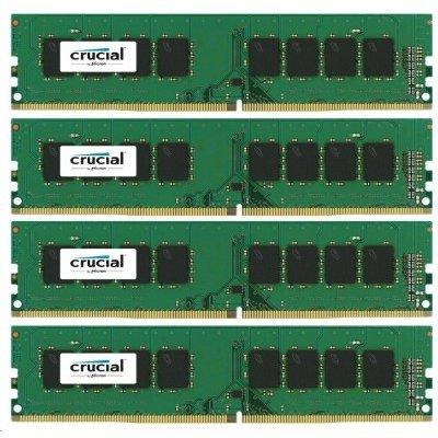 Модуль оперативной памяти ПК Crucial CT4K4G4DFS8213 4Gb DDR4 (CT4K4G4DFS8213)Модули оперативной памяти ПК Crucial<br>Crucial  16GB Kit (4GBx4) DDR4 2133 MT/s (PC4-17000) CL15 SR x8 Unbuffered DIMM 288pin<br>