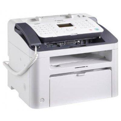 Монохромный лазерный МФУ Canon i-SENSYS FAX-L170 (5258B046)Монохромные лазерные МФУ Canon<br>МФУ (принтер, копир, факс, телефон)<br>    для дома, небольшого офиса<br>    ч/б лазерная печать<br>    до 18 стр/мин<br>    макс. формат печати A4 (210  297 мм)<br>    ЖК-панель<br>    автоподача оригиналов при сканировании<br>
