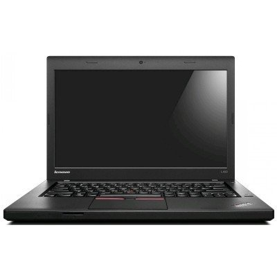 Ноутбук Lenovo ThinkPad L450 (20DT0016RT) (20DT0016RT)Ноутбуки Lenovo<br>ThinkPad L450 14HD(1366x768),i5-5200U(2,2 GHz),4Gb(1),1TB / 5400 + 16GB, HD Graphics 5500, WiFi,BT,WWAN ready,6cell,Cam,Win7 Pro 64 + Win8.1 Pro upgrade coupon,1y c.y., 1,92 kg MTM20DT<br>