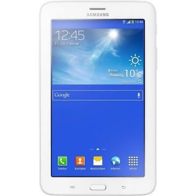 Планшетный ПК Samsung GALAXY Tab 3 lite SM-T116 3G 8GB кремовый белый (SM-T116NDWASER)Планшетные ПК Samsung<br>Samsung Galaxy Tab 3 Lite VE 7.0(1024х600) 3G Cam (2.0/2.0) ARM SC8830 1300МГц(4) (1/8)Гб microSD до 32Гб A4.4 GPS 3600мАч Белый SM-T116NDWASE<br>